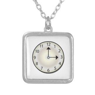 Clock Custom Necklace