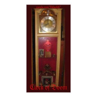 Clock of Doom Photo Greeting Card