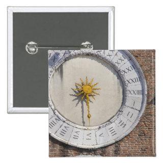 Clock of San Giacomo di Rialto San Polo Venice Button