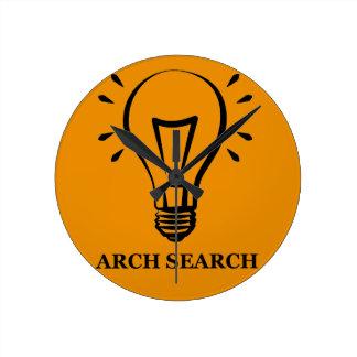Clock of wall Arch Search Average Redondo