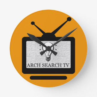 Clock of wall Arch Search TV Average Redondo