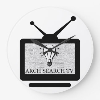 Clock of wall Arch Search TV Great Redondo
