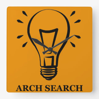 Clock of wall Arch Squared Search