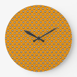 Clock of wall Mesh Arch Search TV Redondo Gnd
