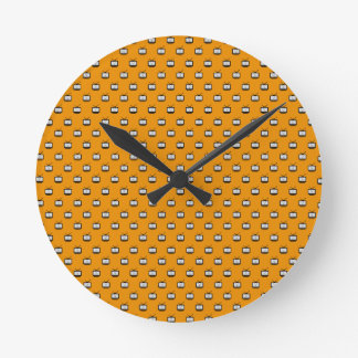 Clock of wall Mesh Arch Search TV Redondo Med