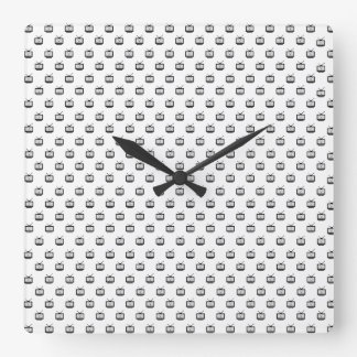 Clock of wall Mesh Arch Squared Search TV