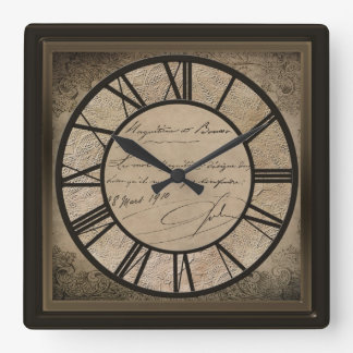 CLOCK - OLD WORLD VINTAGE DESIGN -