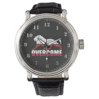 Clock overcome wrist watch
