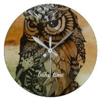 clock owl