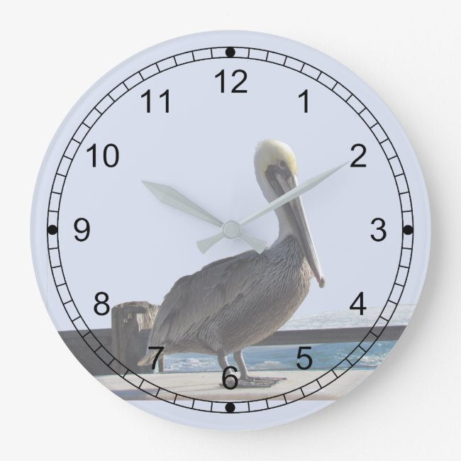 Clock - Pelican on Watch