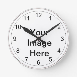 Clock Photo Template - Ready to Customize