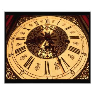 Clock Photo Print
