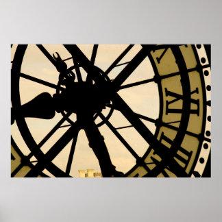 Clock Posters