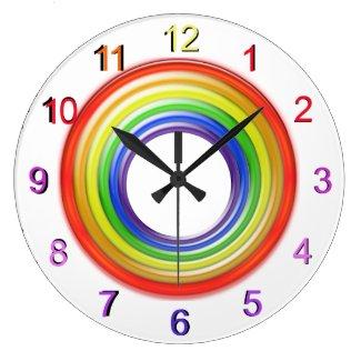 Clock - Primary Colors