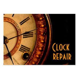 Clock repair large business cards (Pack of 100)