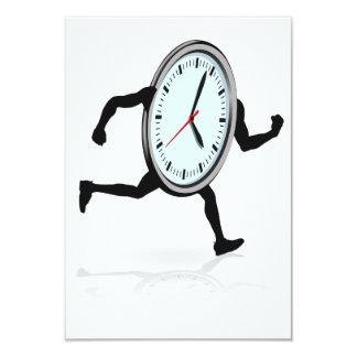 Clock Running Invitations