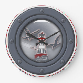 "Clock ""Sea Breeze"" Bullseye"