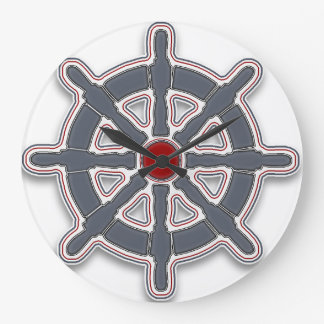 "Clock ""Sea Breeze"" Wheel Var02"