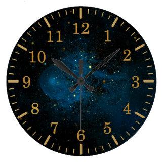 CLOCK SPACE CW LEO RUNAWAY STAR