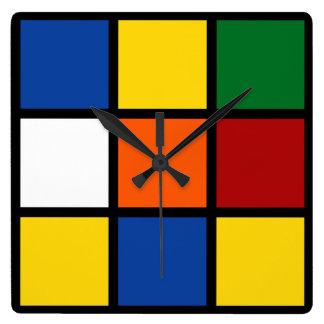 "Clock ""Squared """