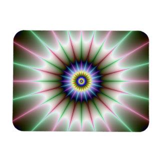 Clock Star Photo Magnet