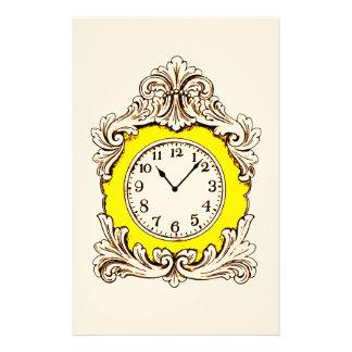 Clock Stationery