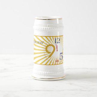 Clock Strikes Twelve - Beer Stein