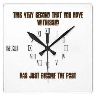 Clock that tells the truth