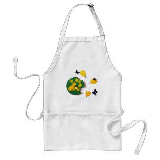 clock  tic-tac adult apron