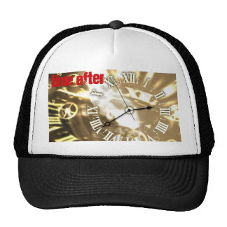 clock, Time After Trucker Hat
