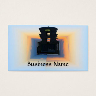 Clock Tower Business Card