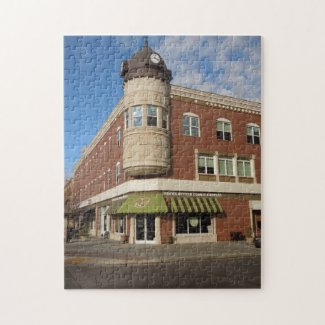 Clock Tower, Downtown Paso Robles, California Jigsaw Puzzles