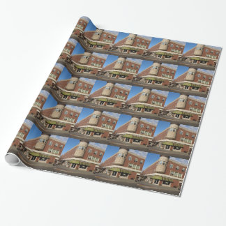 Clock Tower, Downtown Paso Robles, California Wrapping Paper