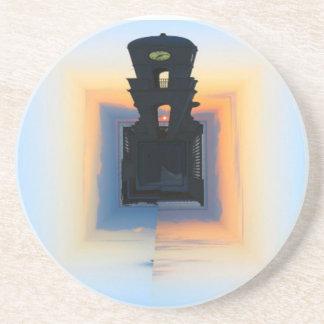 Clock Tower Drink Coaster