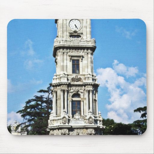 Clock Tower, Istanbul Mousepads