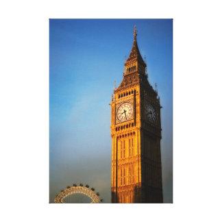 Clock Tower - London Canvas Print