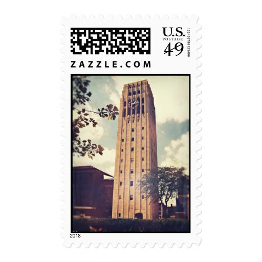 Clock Tower Stamp