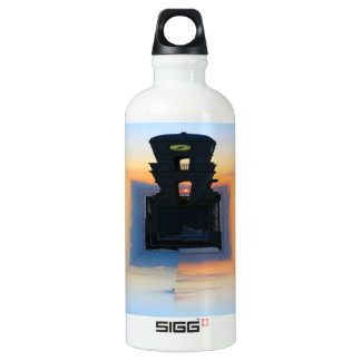 Clock Tower Water Bottle