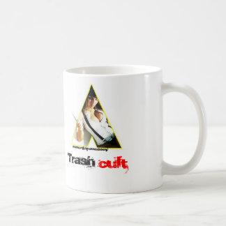 clock, Trash, cult, www.myspace.com/ Classic White Coffee Mug