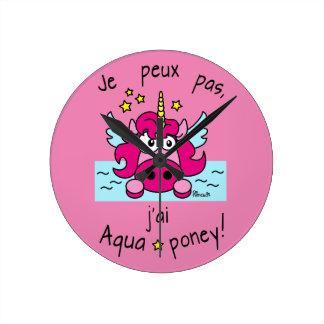 "Clock ""Unicorn, Aquaponey """