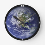 Clock: View of Earth from Space