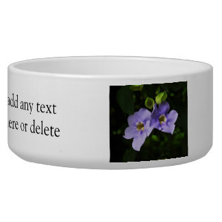 Clock Vine Digital Art Flowers Bowl