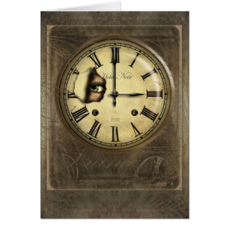 Clock Watching Greetings and Note Cards