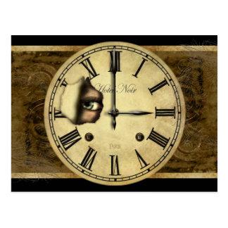Clock Watching Postcard