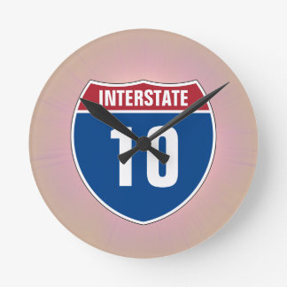 Clock with any Interstate Number
