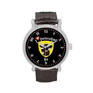 Clock with Swiss draft Uri
