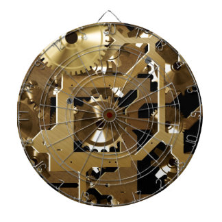clock work dartboard