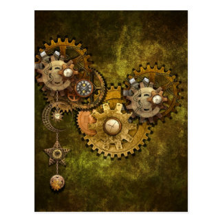 Clock Work Post Cards