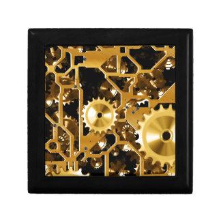 Clock Works Jewelry Box
