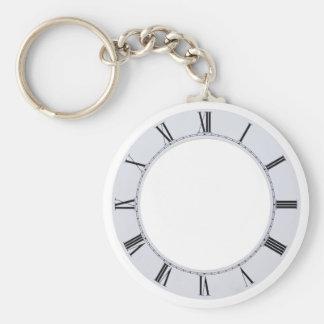 ClockFace060709 Keychain